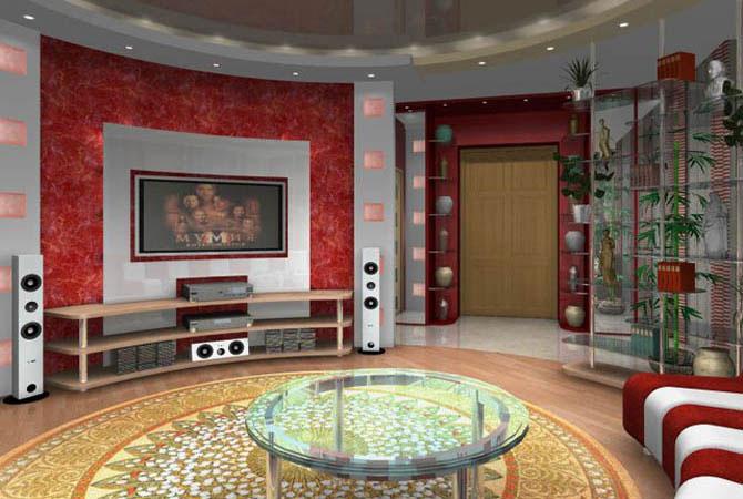 примеры дизайна интерьеров квартир
