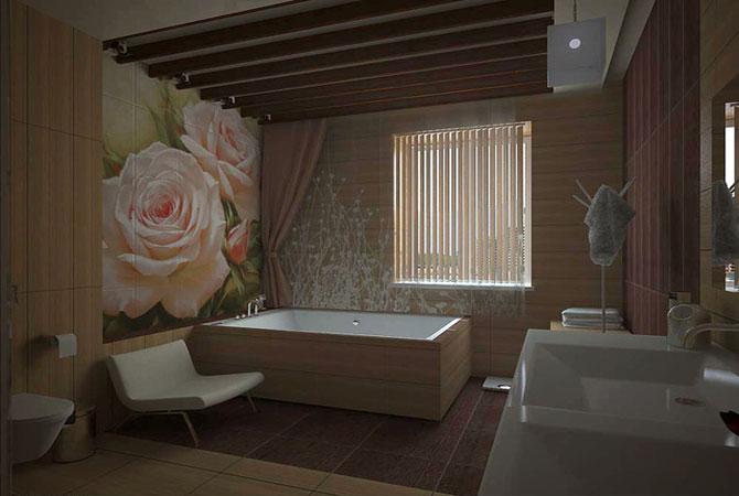 дизайн интерьеров ванной комнаты фото