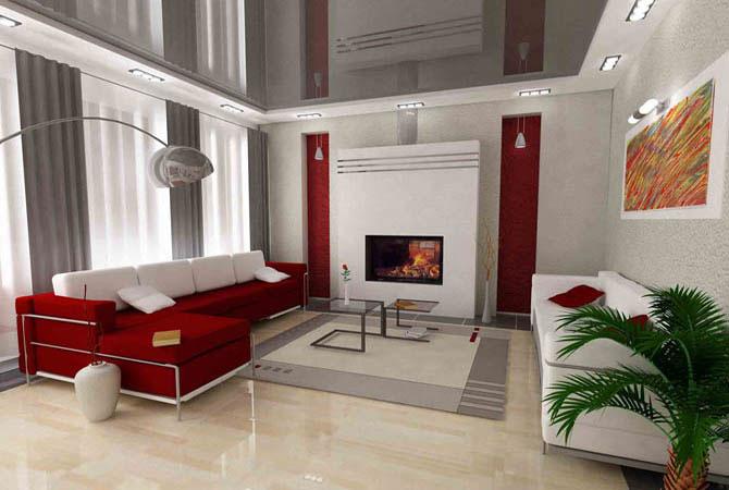 дизайн жилой комнаты с фотографиями