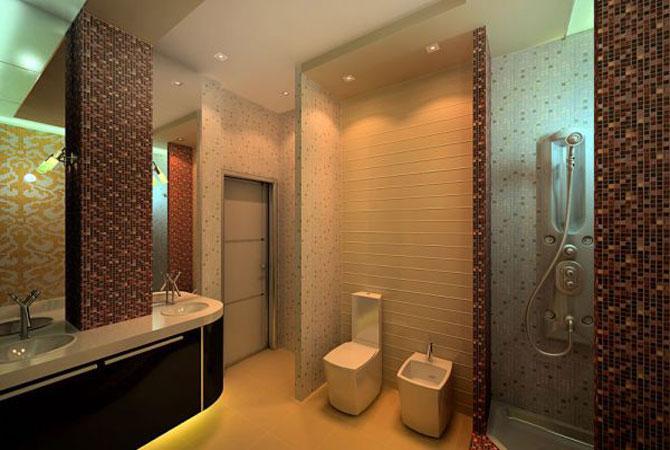 дизайн комнатной перегородки из гипсокартона