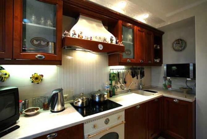 интерьер маленькой 2 комнатной квартиры фото