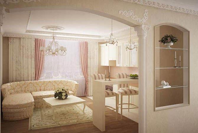 дизайн и перепланировка квартиры с низким потолком