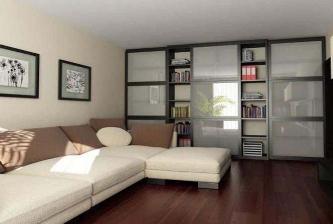 дизайн проект 4х комнатной квартиры свободной планировки