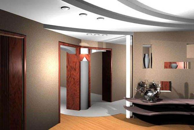 дизайны и интерьеры квартир