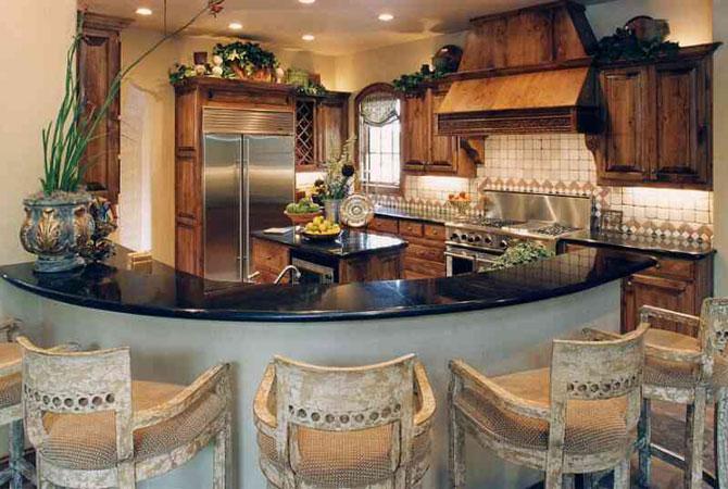 интерьер кухни-столовой в эконом квартире