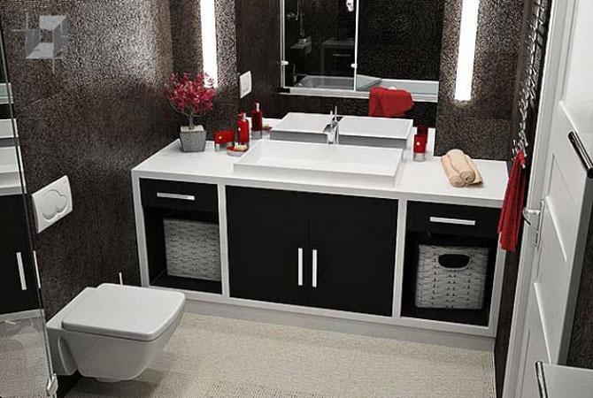 дизайн спален квартир минимализм