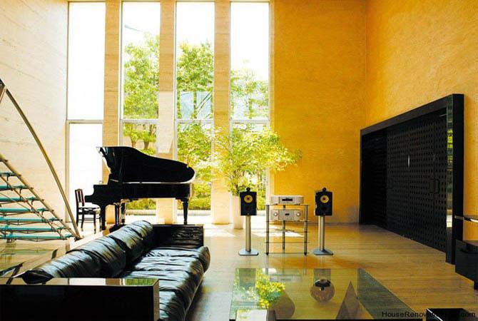 ремонт и интерьер квартир в стиле хай-тек