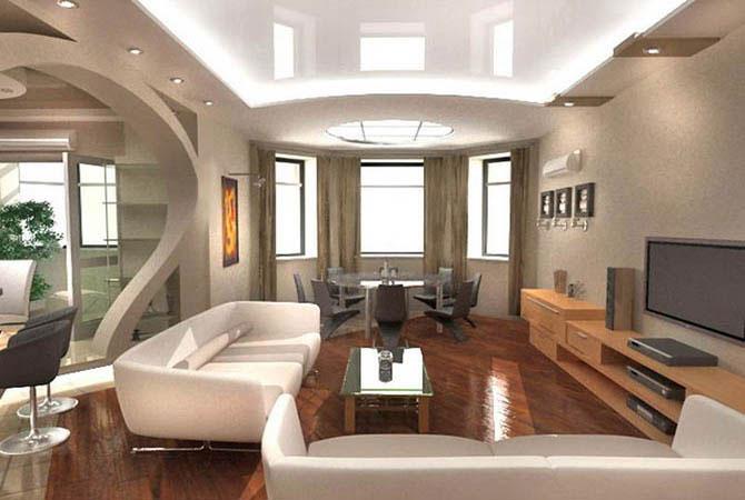дизайн и интерер в 2-х комнатных квартирах