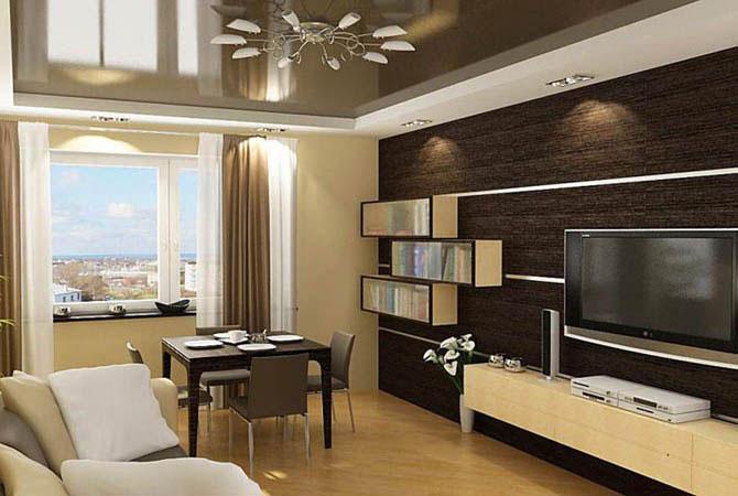 Дизайн комната 20 кв.м
