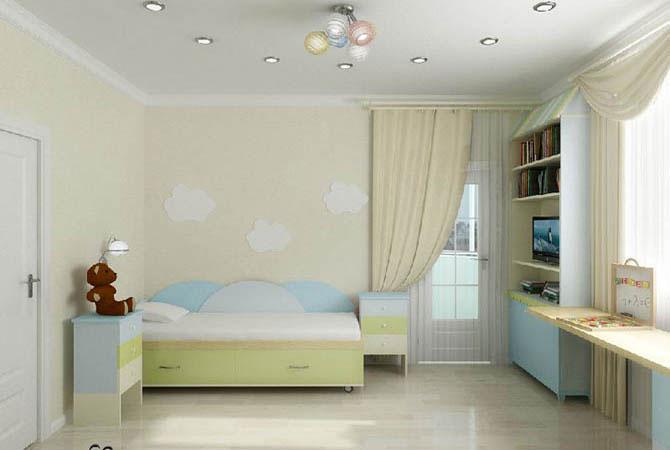 ремонт детской комнаты в морском стиле