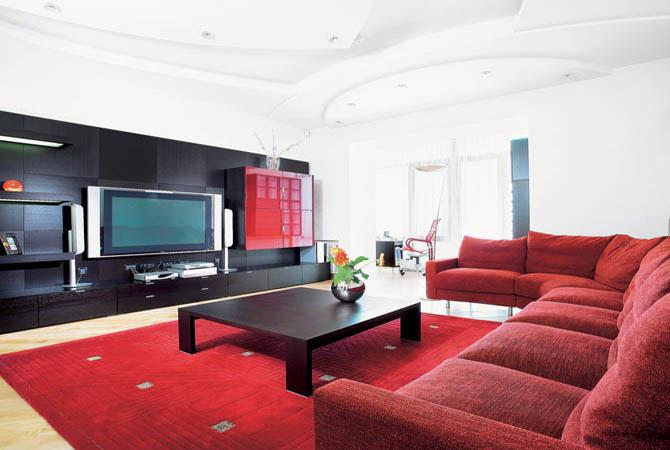 варианты дизайнерских проектов комнат