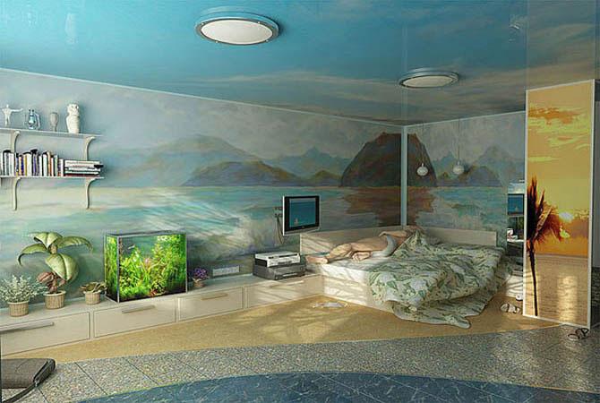 дизайнерские проекты гостинных комнат