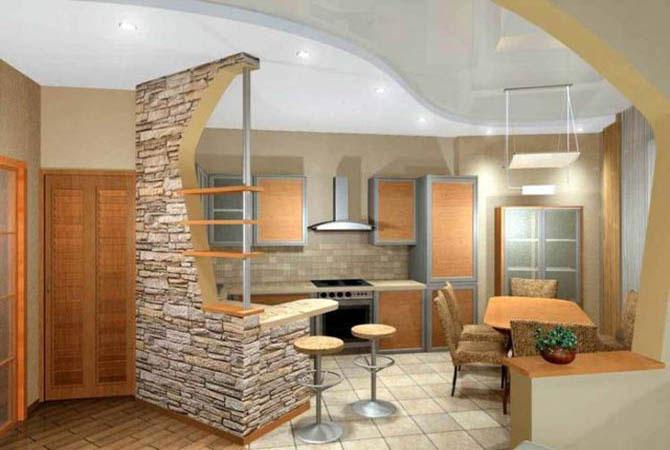Дизайн кухни дск